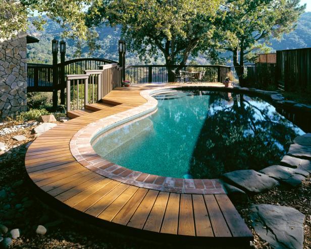 Deck na piscina