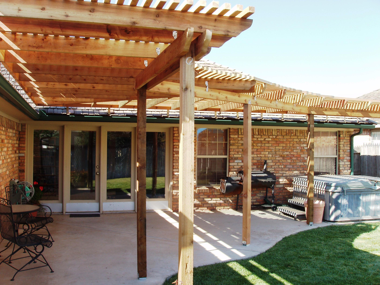 cobertura do telhado tipo pérgola